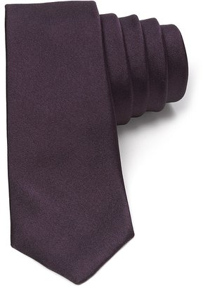 Theory Luster Satin Skinny Tie $98 thestylecure.com