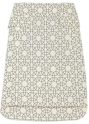 Marni Printed wool-crepe skirt