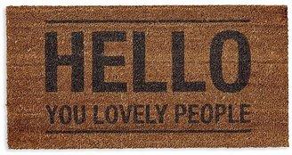 Bloomingville Coir Hello Doormat