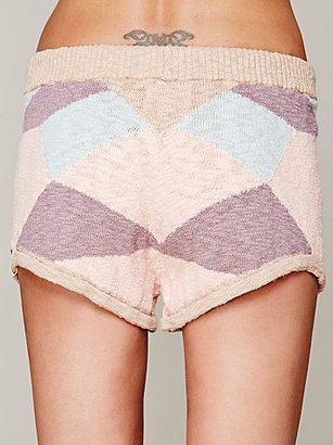 One Teaspoon Diamond Knit Short