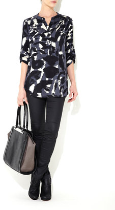 Wallis Camouflage Print Shirt