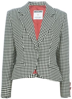 Moschino Vintage check suit