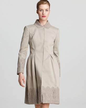 Philosophy di Alberta Ferretti Coat - Lace Trim