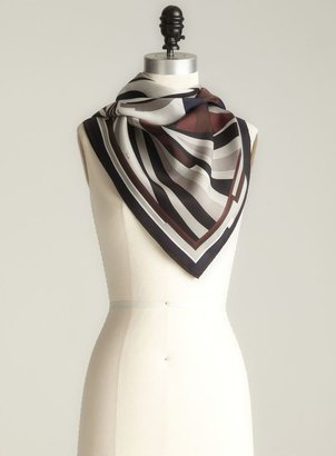 Pucci Abstract Swirl Silk Scarf