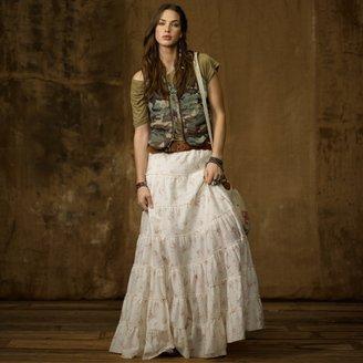 Denim & Supply Ralph Lauren Tiered Prairie Skirt