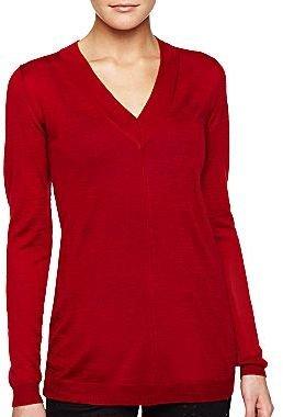 Mng By Mango® V-Neck Tunic Sweater