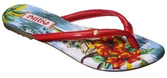 Women's Mad Love Ling Flip Flop - Red