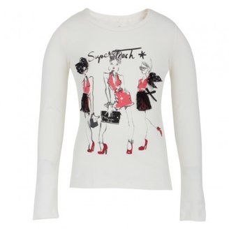 Supertrash Three Girls White Tee
