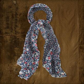 Denim & Supply Ralph Lauren Wide Floral Scarf