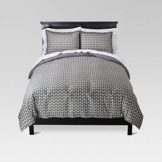 Threshold Chevron Herringbone Duvet Cover Set