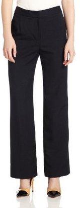 Kasper Women's Petite Melange Classic Fit Kate Suit Pant