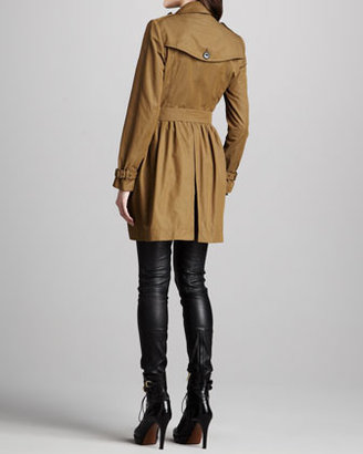 Burberry Trenchcoat with Ruched Waist