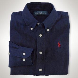 Linen Custom-Fit Shirt