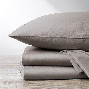 Coyuchi Organic Cotton Sateen 300TC Sheet Set, Full