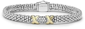 Women's Lagos 'Diamond Lux' Diamond Rope Bracelet $995 thestylecure.com