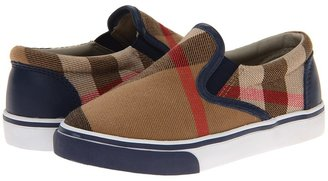 Burberry Kids - Linus Boy's Shoes $165 thestylecure.com