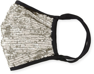 Naeem Khan Reusable Sequin Face Mask Covering