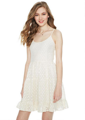 Delia's Tiered Lace Babydoll Dress
