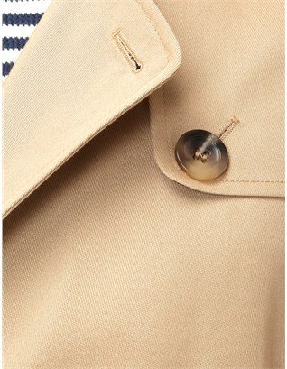 A.P.C. Beige Cotton New Trench