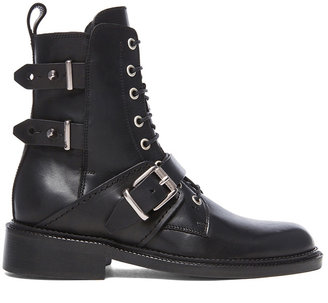 Barbara Bui Moto Leather Boots
