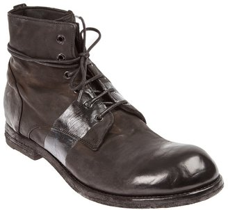 Officine Creative distressed lace-up boot