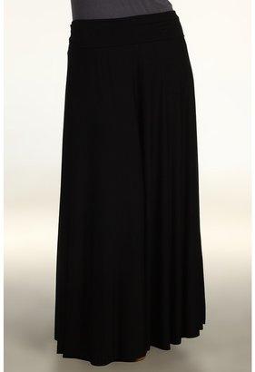 Rachel Pally Plus - Plus Size Long Full Skirt SP12 (Black) - Apparel