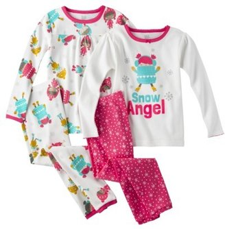 Carter's JUST ONE YOU® Made by Infant Toddler Girls' 4-Piece Tight Fit Sleep Set