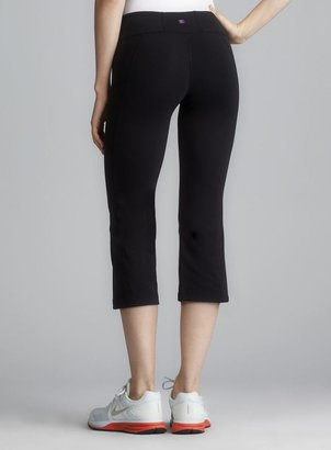 Zobha Black Evolve Stretch Capri Pant