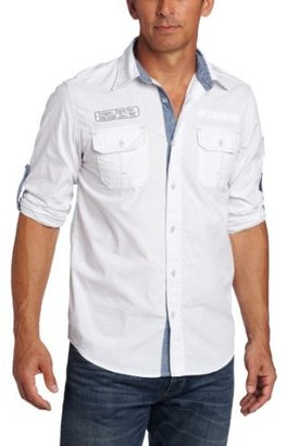 Company 81 Men's Young Military Woven Shirt