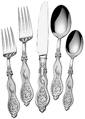 JCPenney Wallace Peacock 45-Pc. Flatware Set
