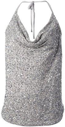 Haute Hippie sequin embellished top