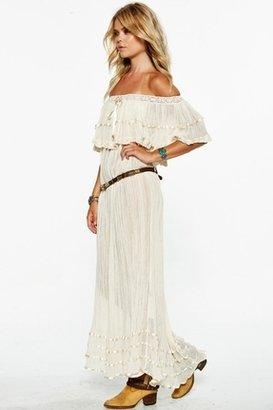 Jen's Pirate Booty Senorita Bonita Dress in Natural $159 thestylecure.com
