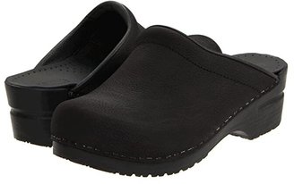 Sanita Sonja Oil (Black Oil) Women's Clog Shoes