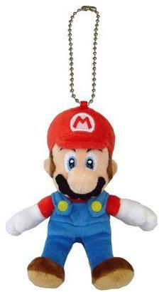 "Nintendo Official Mario Plush Series Stuffed Toy - 5"" Mario Mascot Strap (Japanese Import)"