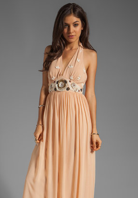 ALICE by Temperley Long Fonteyn Halter Dress
