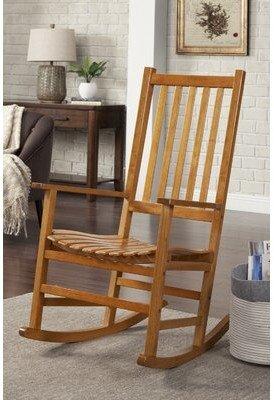 Wildon Home Greenhorn Rocking Chair
