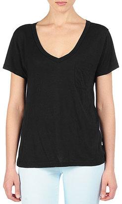 AG Jeans The Pocket V-Neck Tee - Black