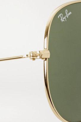 Ray-Ban Aviator Gold-tone Sunglasses - one size