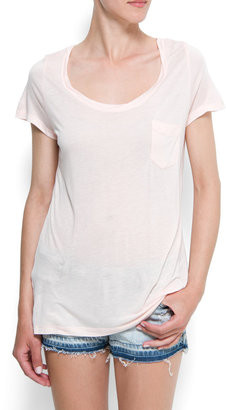 MANGO Loose-fit t-shirt