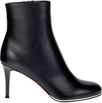 Givenchy Black calf leather ankle boot