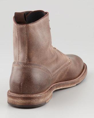 Bergdorf Goodman Gaucho Lace-Up Boot