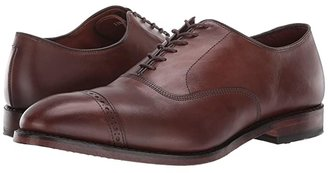 Allen Edmonds Fifth Avenue (Coffee) Men's Lace Up Cap Toe Shoes
