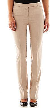 JCPenney Worthington Modern Straight Pants