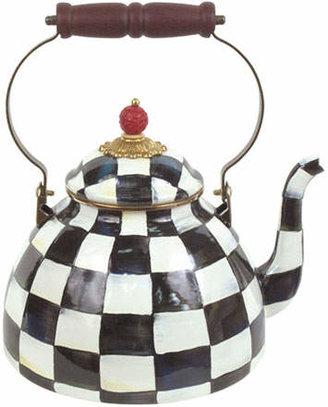 Mackenzie Childs MacKenzie-Childs Courtly Check Three-Quart Tea Kettle