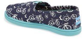 Toms 'Peace N Bikes' Slip-On (Baby, Walker & Toddler)