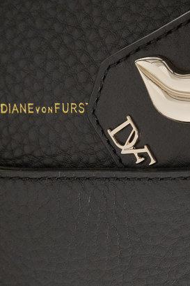 Diane von Furstenberg Sutra textured-leather tote