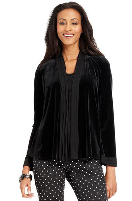Charter Club Top, Long-Sleeve Layered-Look