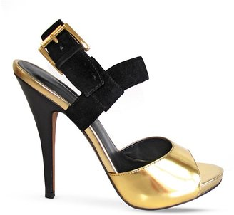 Luxury Rebel Peep Toe Platform Sandals - Judith 2 High Heel