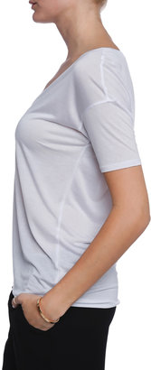 BELLA LUXX Short V-neck Tee