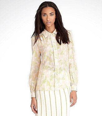 Tory Burch Angelique Silk Blouse